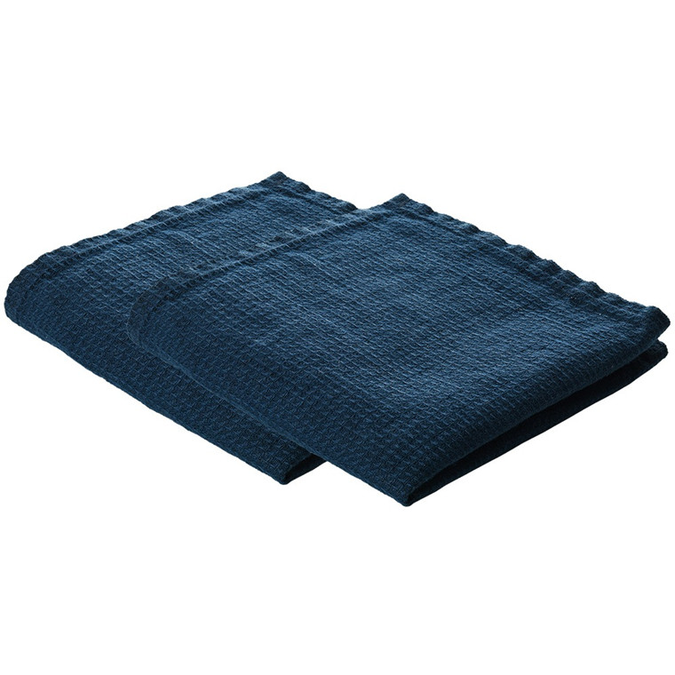 LINEN dishcloth Deep Blue