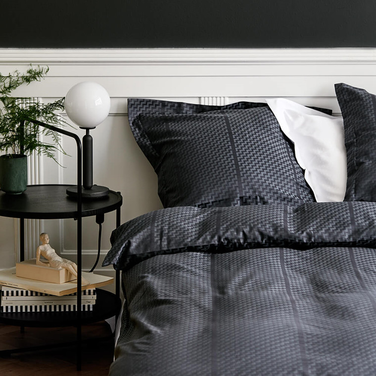 TRIPP bed linen Dark Grey
