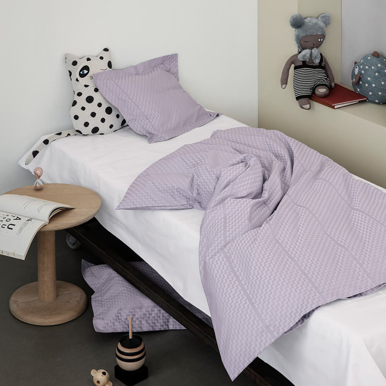 TRIPP baby- and junior bed linen Dusty Lavender