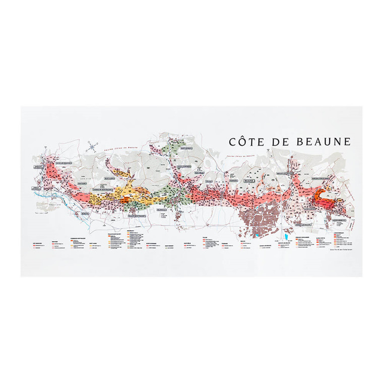 BOURGOGNE // CÔTE DE BEAUNE damastduk