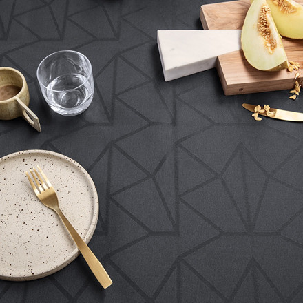 ARNE JACOBSEN tablecloths Asphalt