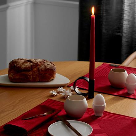4 pcs. Candles Deep Red