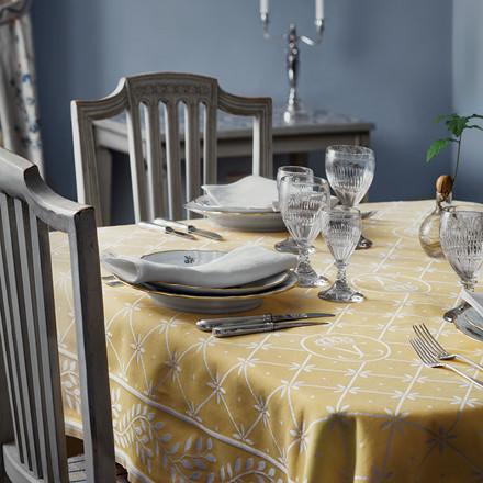 Queen Silvia's Easter Tablecloth