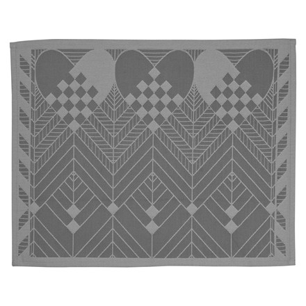 2 CHRISTMAS PLACEMATS Winter Grey
