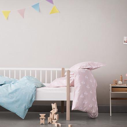 FAIRYTALE baby sengetøj Pale Blue