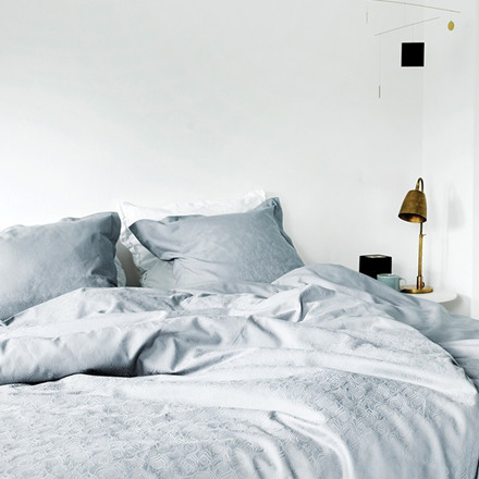 FEATHER FOREST bed linen Sky