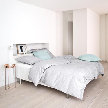 GRID sengetøj Oyster Grey