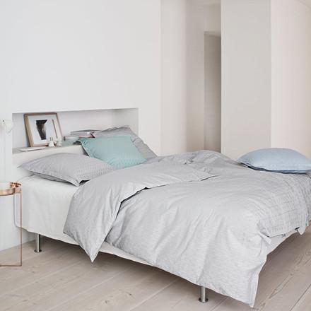 GRID sengetøy Jade Green