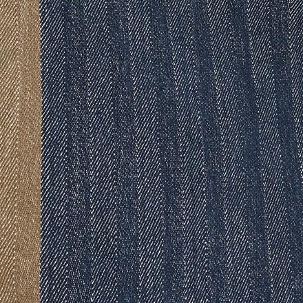 HERRINGBONE Tischläufer Deep Blue