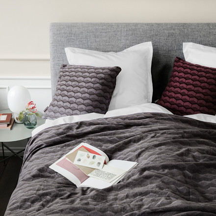 KUBUS sengetæppe Castlerock
