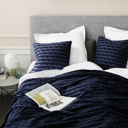 KUBUS bedspread Navy Blazer