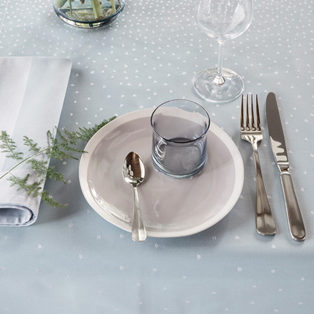 MAY tablecloths Frost Blue