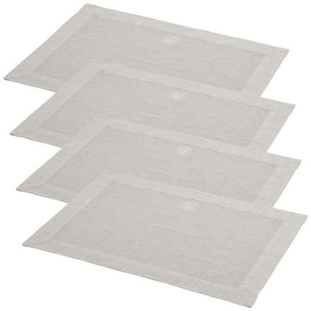 4 pcs. PLAIN placemats