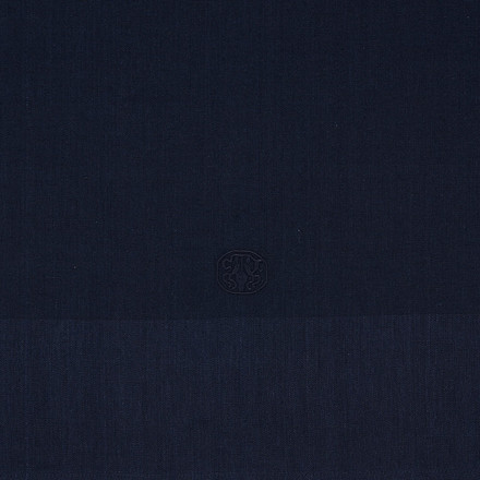 PLAIN damastduk  Deep Blue