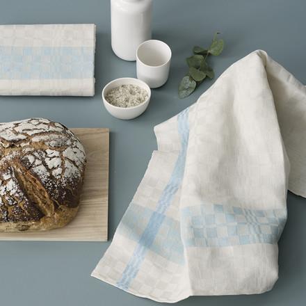 PUK tea towels Sage