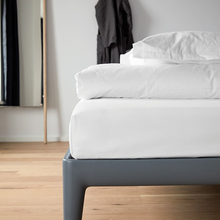 FITTED BOX SHEET, Size 140 x 200 x 35 cm