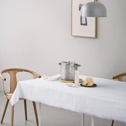 TAFFEL tablecloth White