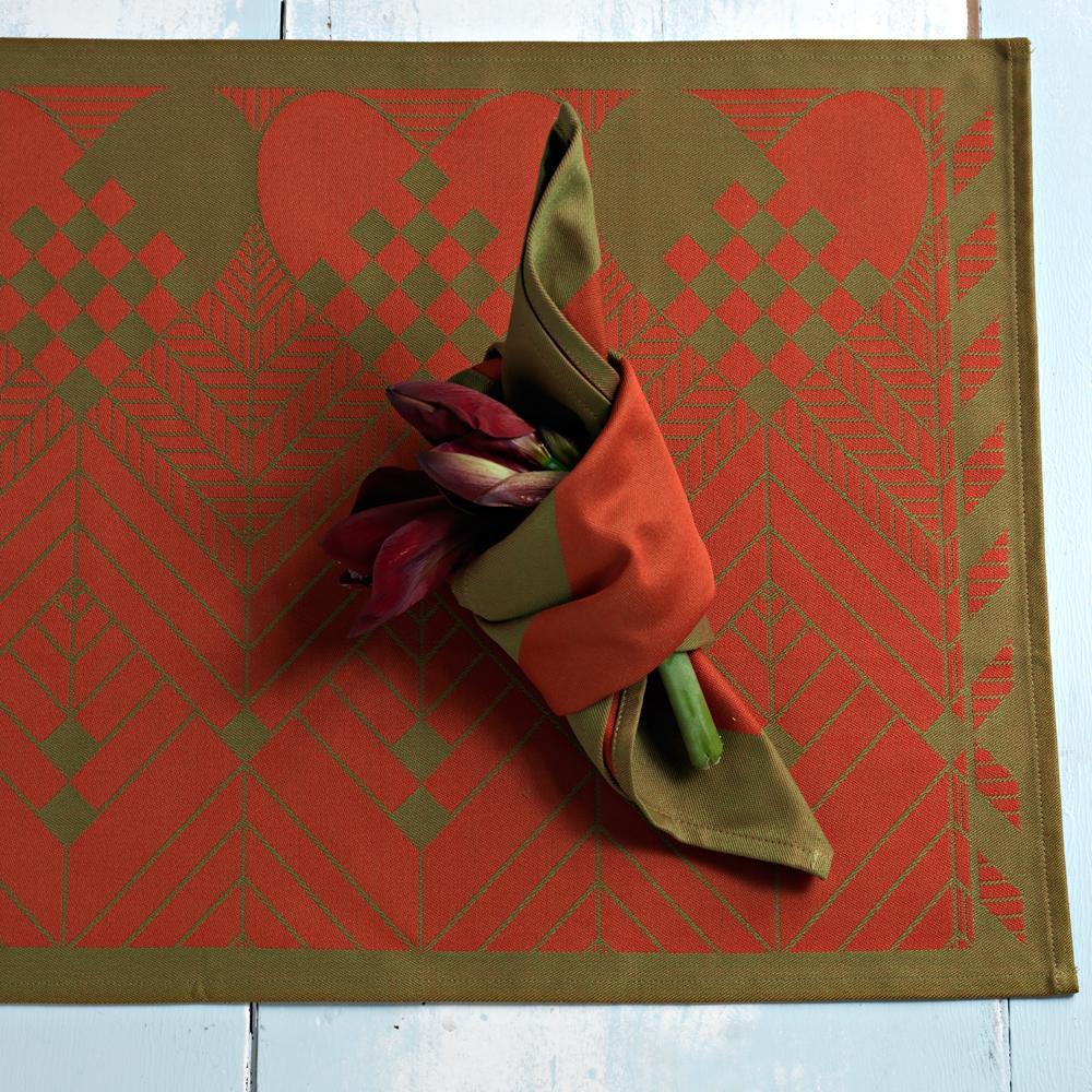 Weihnachtsset skandinavischem design georg jensen damask for Tischset design
