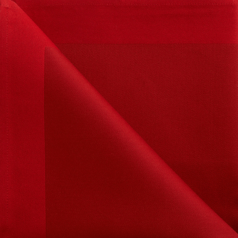 røde stofservietter