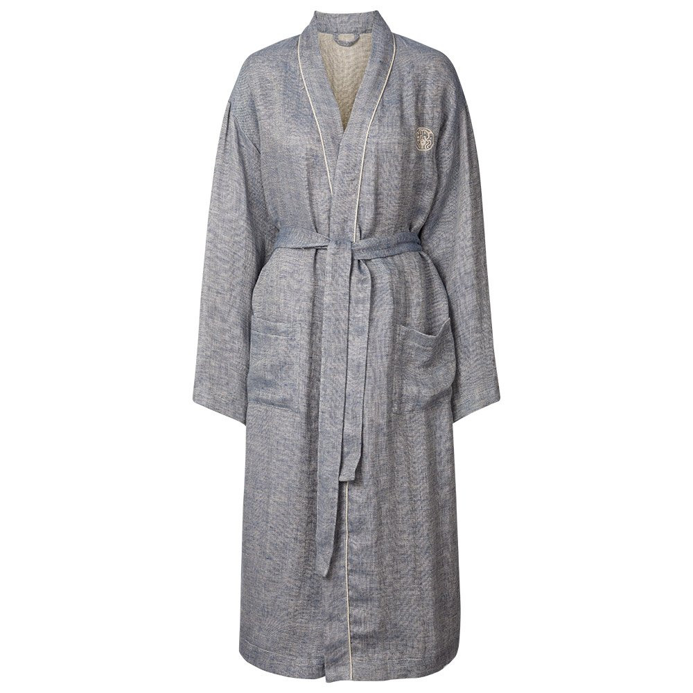 this luxurious linen kimono in superior quality provides a special sense georg jensen damask. Black Bedroom Furniture Sets. Home Design Ideas
