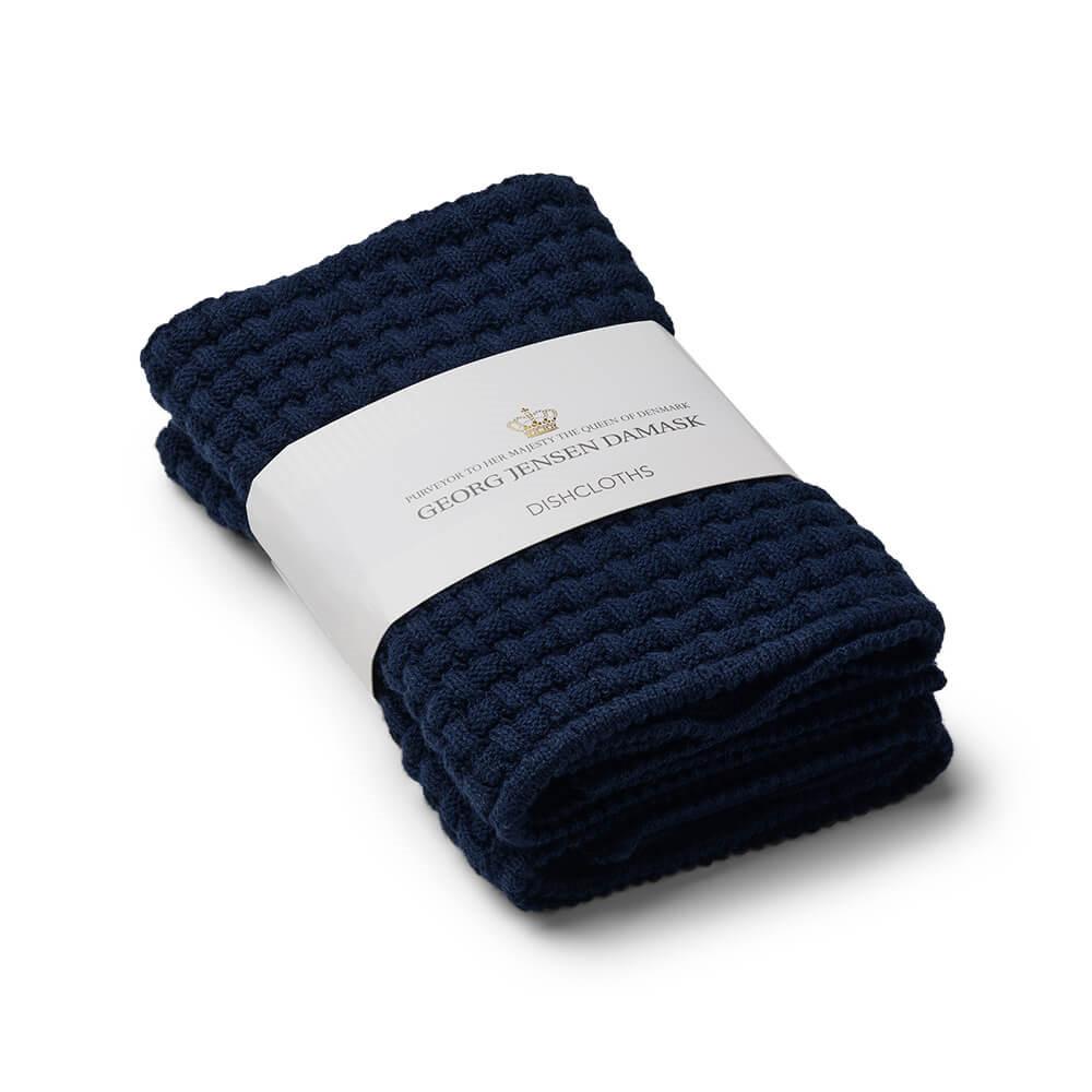 1a83677e Myk kjøkkenklut i ypperste bomullskvalitet og praktisk marineblå ...