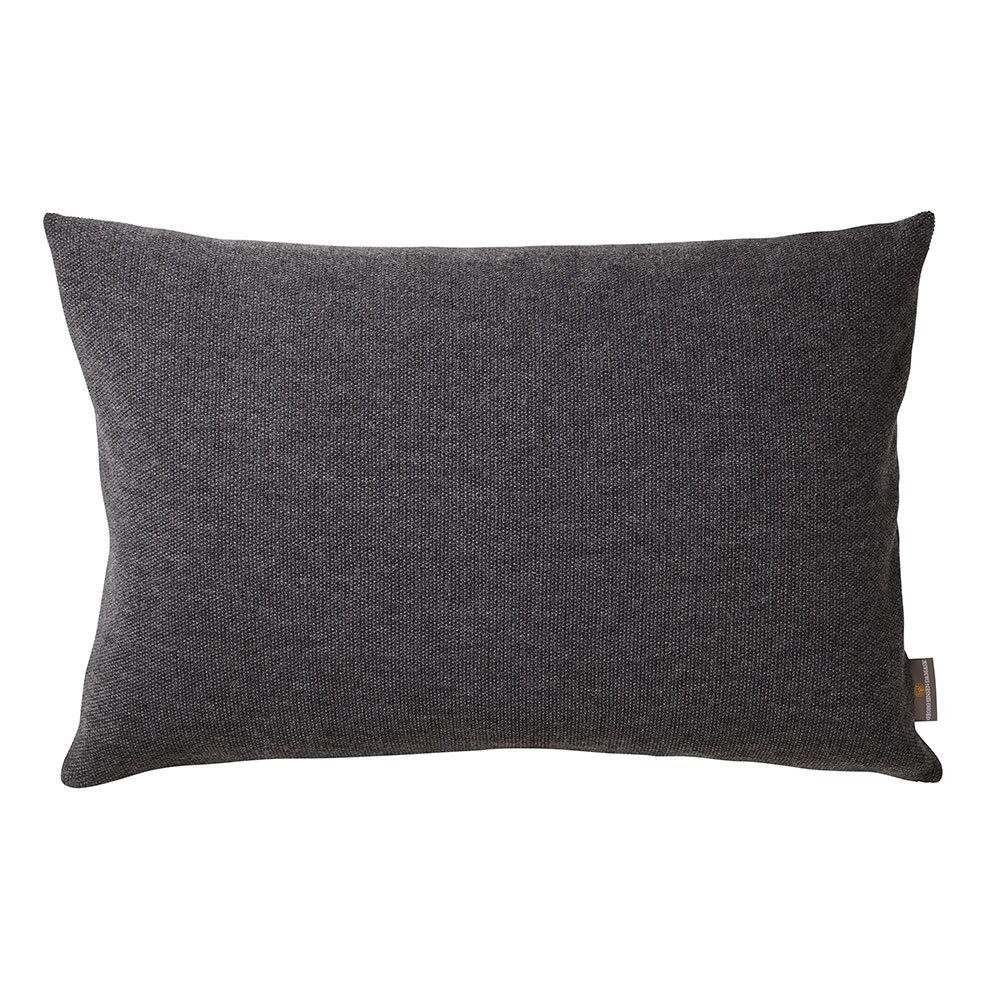 pearl cushion is knitted from 50 cotton and 50 wool colour grey georg jensen damask. Black Bedroom Furniture Sets. Home Design Ideas