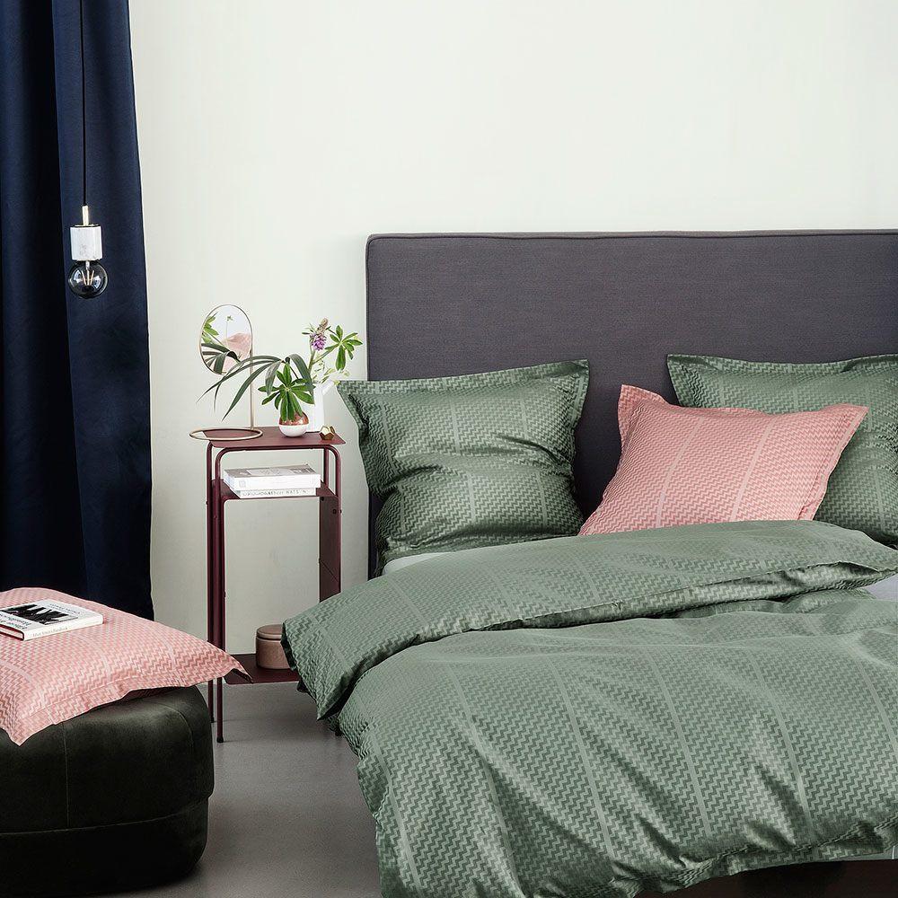 sengetøj georg jensen TRIPP sengetøj i Fir Green. Design af GeJensen Damask   Ge sengetøj georg jensen