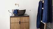 Vaskeklude, Gæstehåndklæder, Badehåndklæder, Bademåtter og Håndsæbe