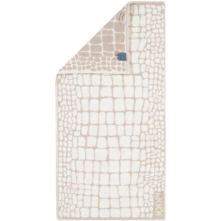 JOOP håndklæde CROCO Stein 50x100