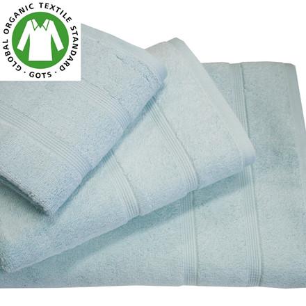 Organic Touch Økologisk badehåndklæde 75x150 blå