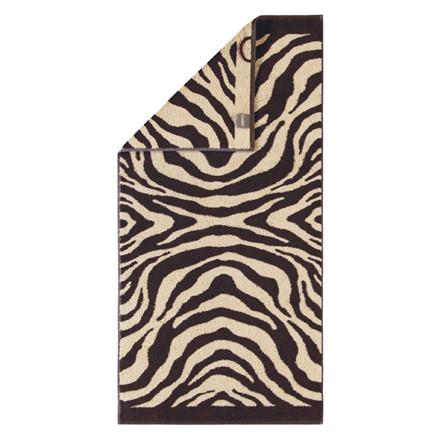 Cawö håndklæde Zebra Brun 50x100