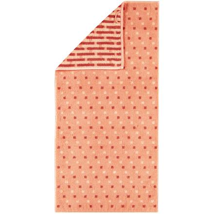 Cawö håndklæde Memory Allover Abrikos 50x100