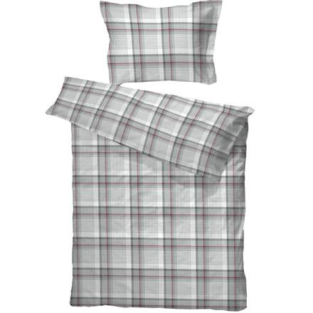 Gusdal flonel sengetøj grå 140x200