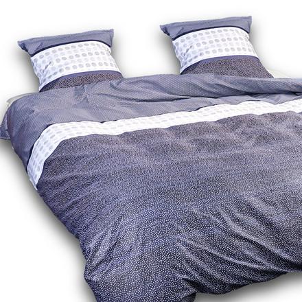 Koyto ægyptisk bomulds satin sengetøj til dobbeltdyne 240x220