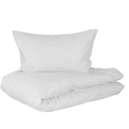 Linus sengetøj i hør og bomuld 140x220 hvid