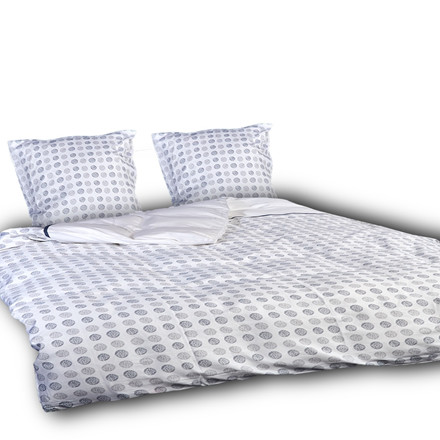 Toji ægyptisk bomulds satin sengetøj til dobbeltdyne 200x220