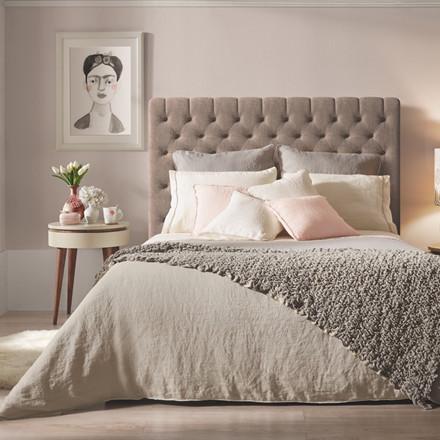 Sopire hør sengetøj Villa Nova sand 140x220