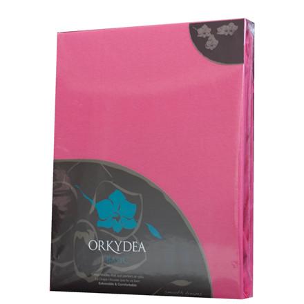 Basic jersey stræklagen 90x200 pink
