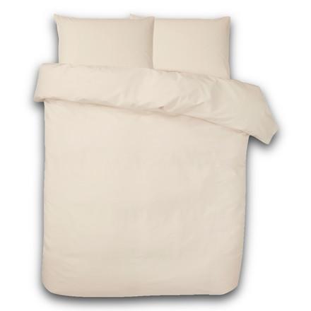 Ægyptisk bomuld sengetøj til dobbeltdyne elfenben 240x220