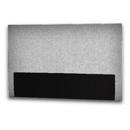 Curem sengegavl Glat lys grå 180 cm
