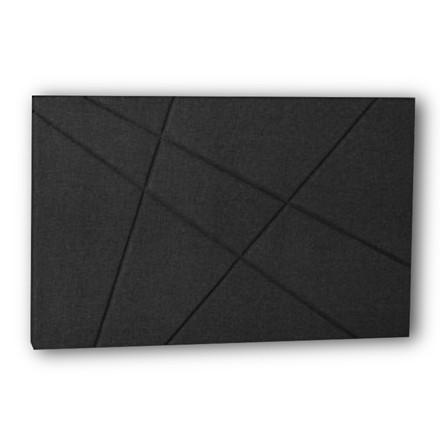 Curem sengegavl Grafisk antracit 180 cm