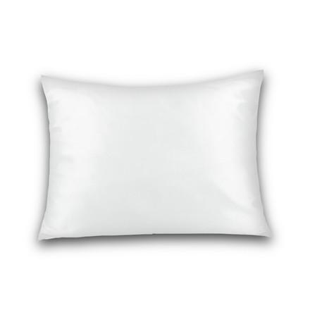 Jersey hovedpudebetræk til Dunlopillo hovedpude 40x60 hvid