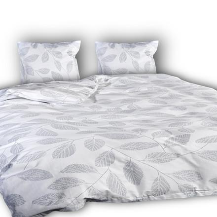 Seve lys ægyptisk bomulds satin sengetøj til dobbeltdyne 200x220