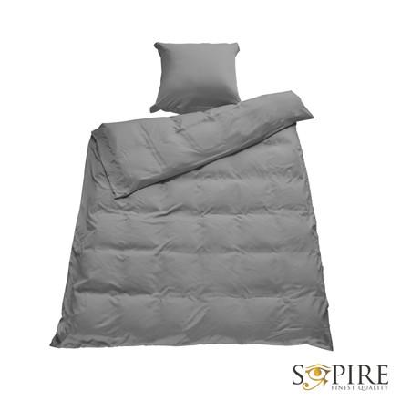 SOPIRE Bambus sengetøj 140x200 grå