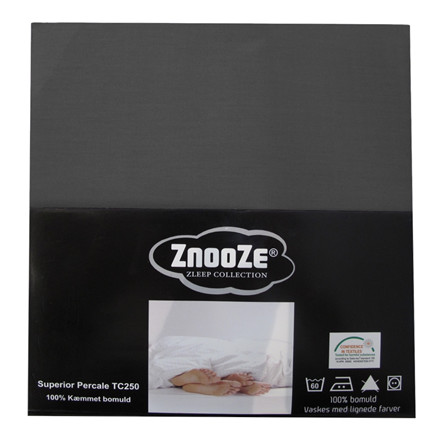 Znooze Superior flad lagen 260x260 koksgrå