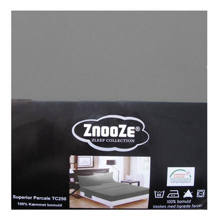 Znooze Superior facon lagen 180x210x35 mellemgrå