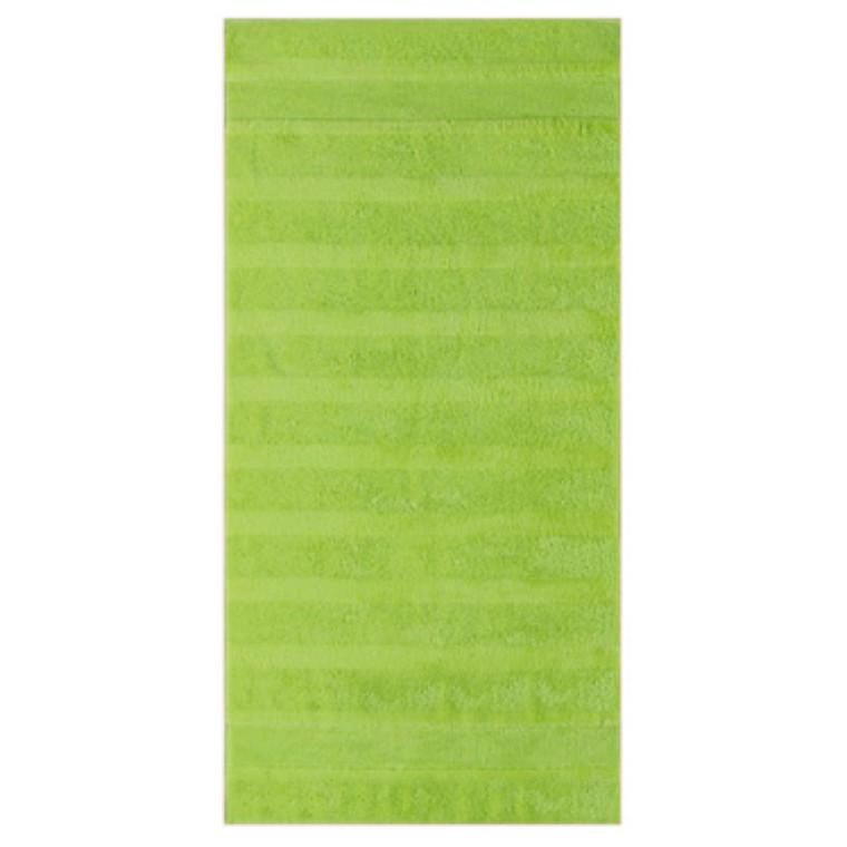 Cawö badehåndklæde Noblesse2 Uni kiwi 80x160