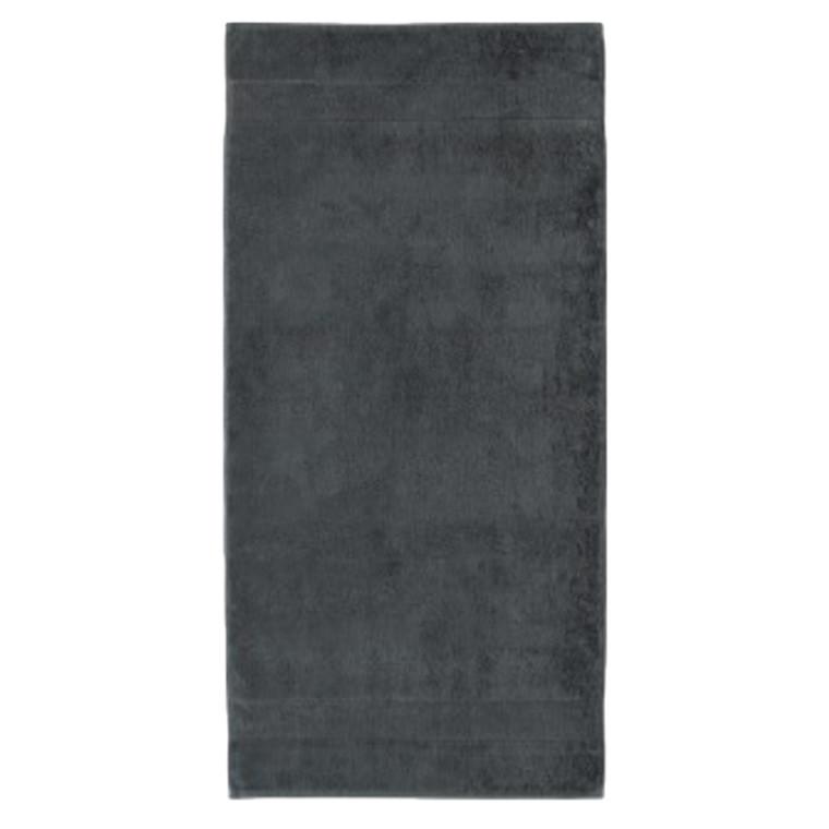 Cawö håndklæde Noblesse2 Uni Antrazit 50x100