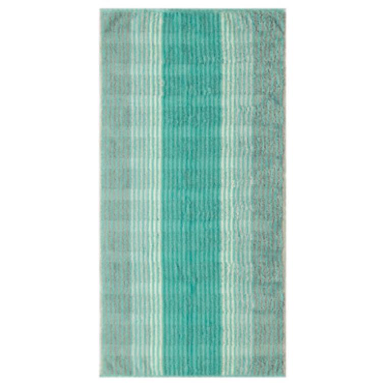 Cawö håndklæder Cashmere Streifen Mint 50x100