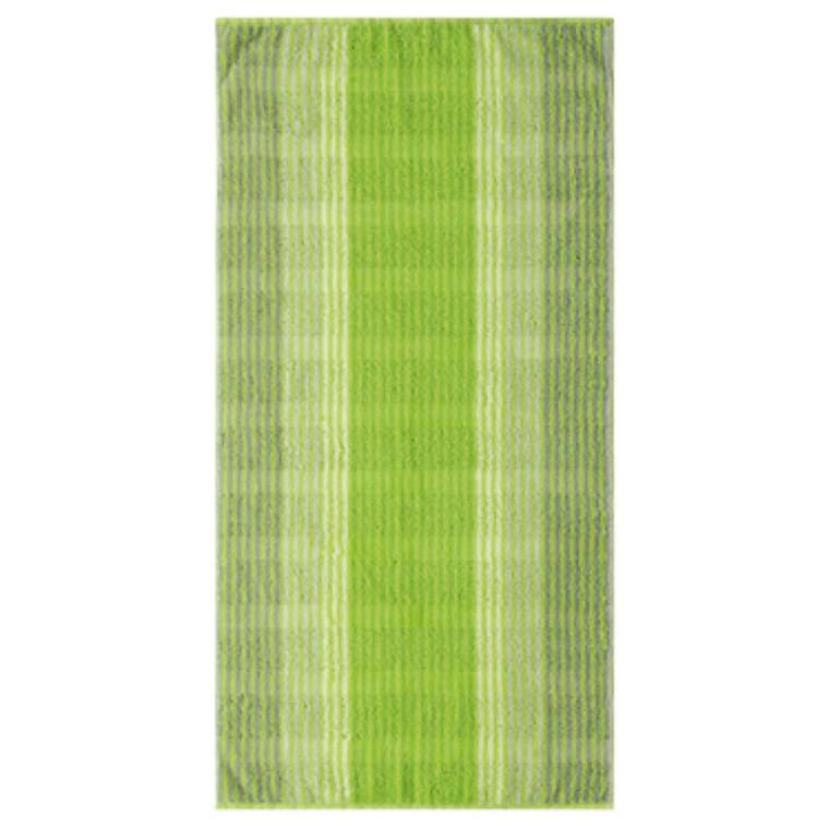 Cawö håndklæder Cashmere Streifen Kiwi 50x100